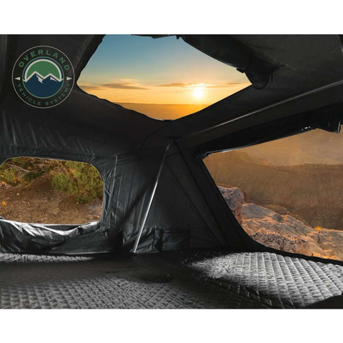 Overland Vehicle Systems Bushveld Hard Shell 4 Person Roof Top Tent - [product_type] - Overland Vehicle Systems - Family Tents World