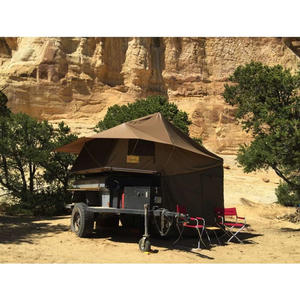 Eezi-Awn Roof Top Tent for Trailer Lifestyle Image
