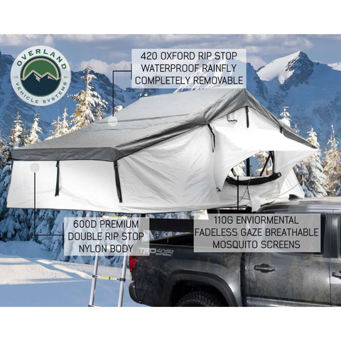 Overland Vehicle Systems Nomadic 3 Person Extended Roof Top Tent - [product_type] - Overland Vehicle Systems - Family Tents World
