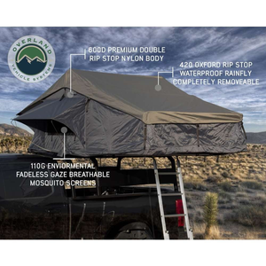 Overland Vehicle Systems Nomadic 4 Extended Roof Top Tent - [product_type] - Overland Vehicle Systems - Family Tents World