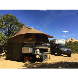 Eezi-Awn Roof Top Tent for Trailer Far Side Image