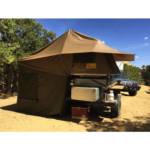 Image of Eezi-Awn Globe Tracker Trailer Tent Side Lifestyle Image