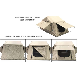 Overland Vehicle Systems TMBK 3 Person Roof Top Tent