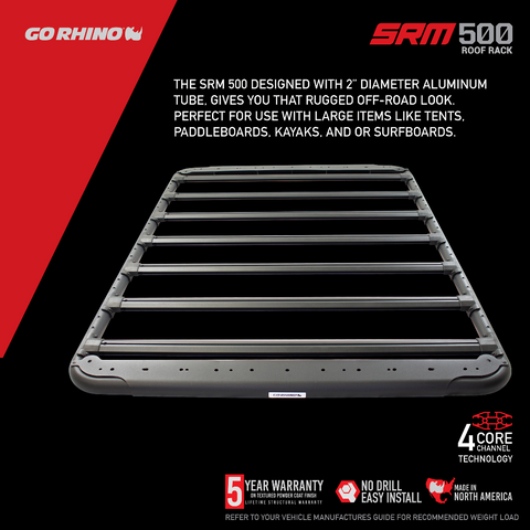 Image of Go Rhino SRM500 Roof Rack