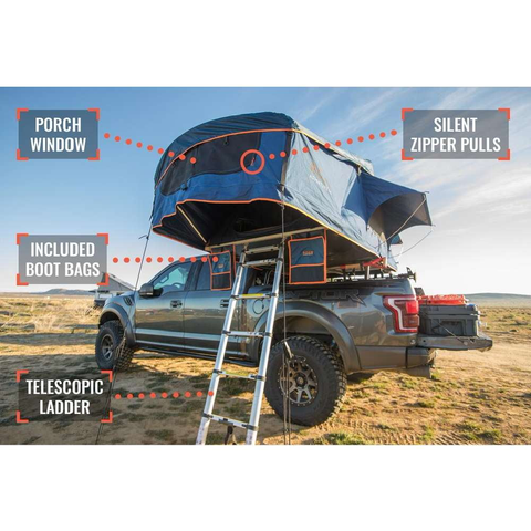 Image of Vagabond Roof Top Tent Gear Specs Image