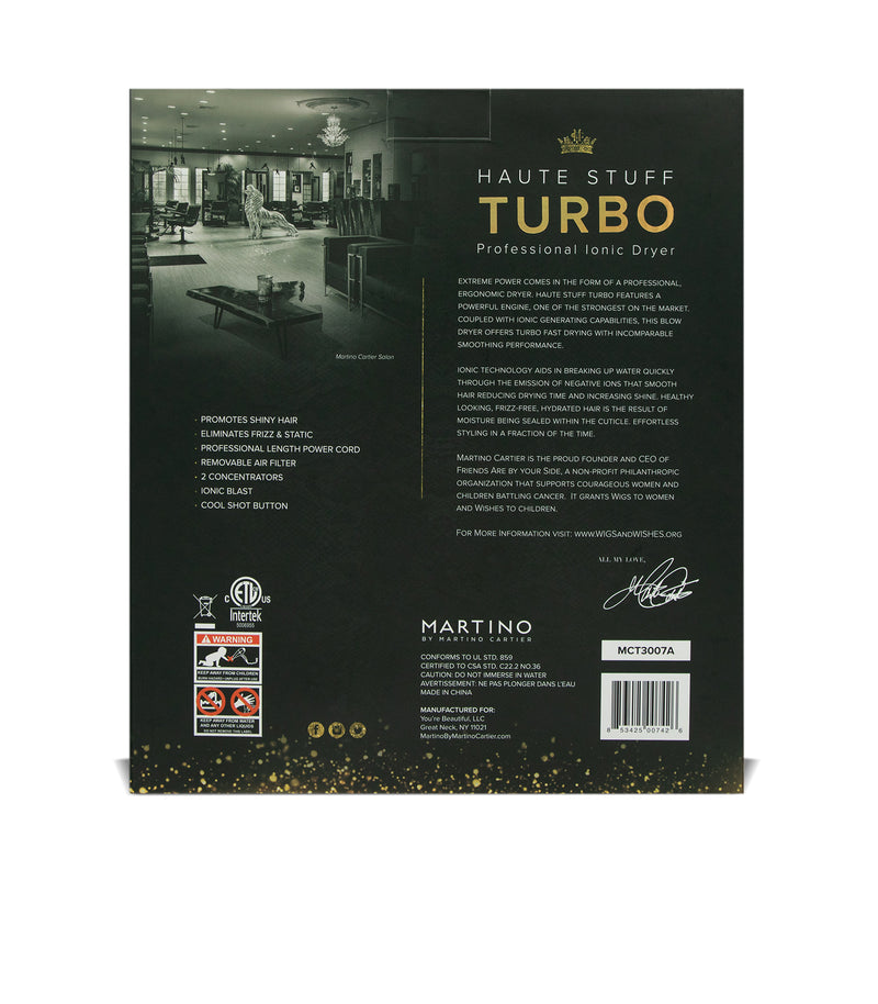 Haute Stuff Turbo - Black