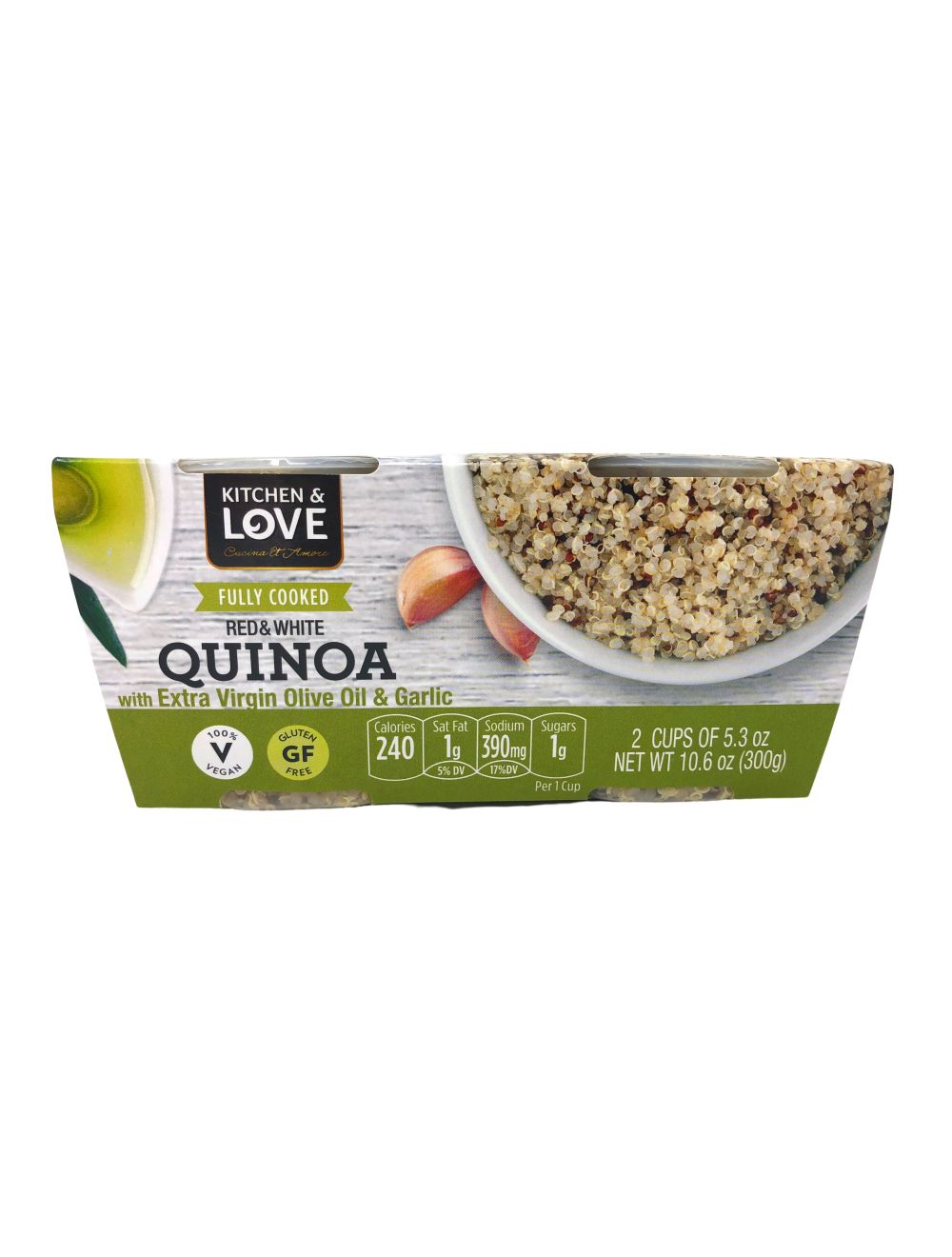 Quinoa DuoPack - Extra Virgin Olive Oil & Garlic