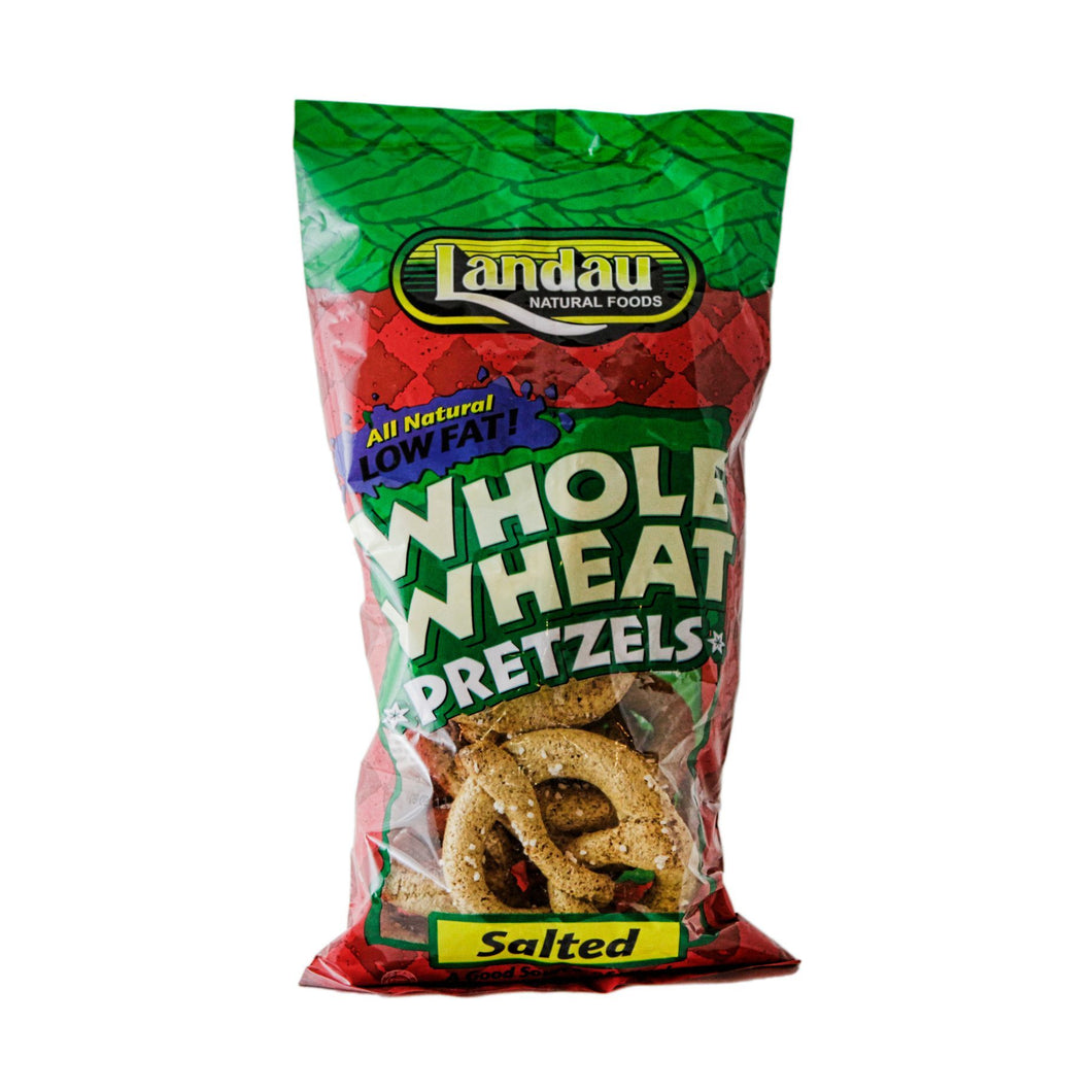 LANDAU WHOLE WHEAT PRETZELS SALTED