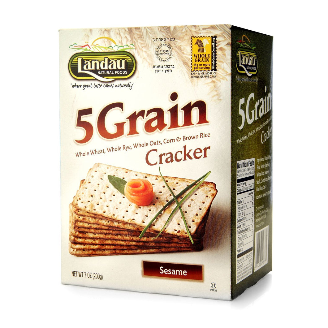 LANDAU 5 GRAIN CRACKERS