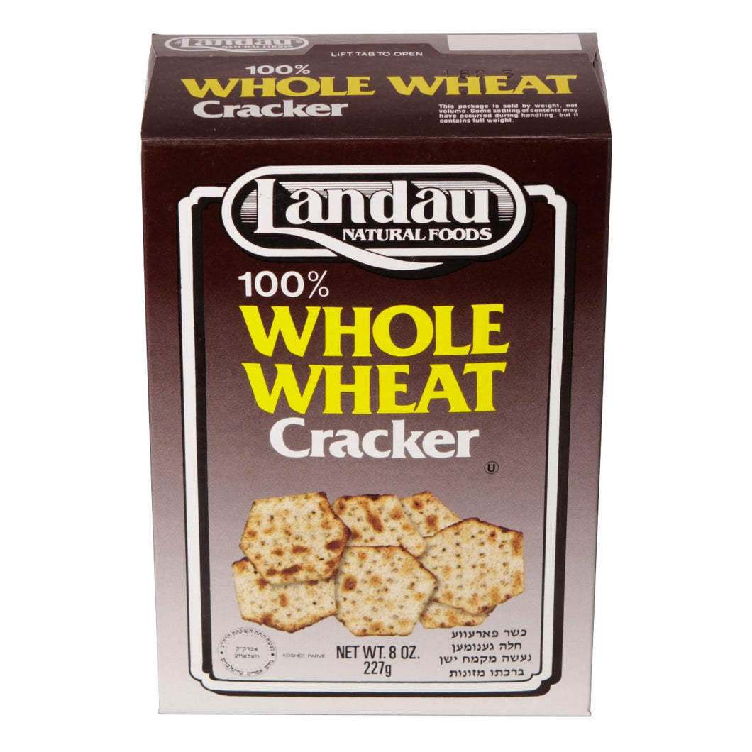 LANDAU WHOLE WHEAT CRACKERS