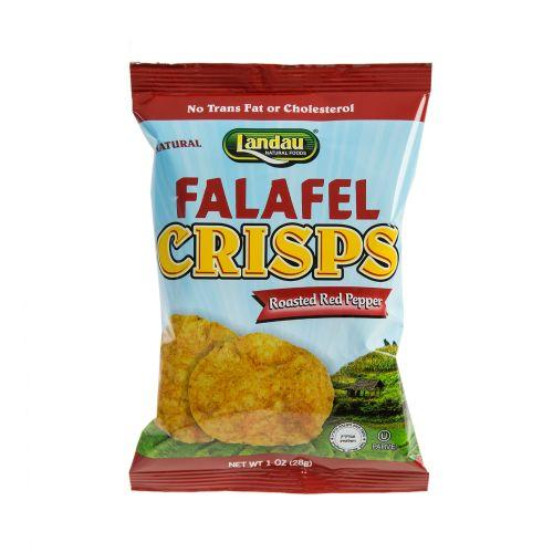 LANDAU FALAFEL CRISPS WITH RED PEPPERS SMALL