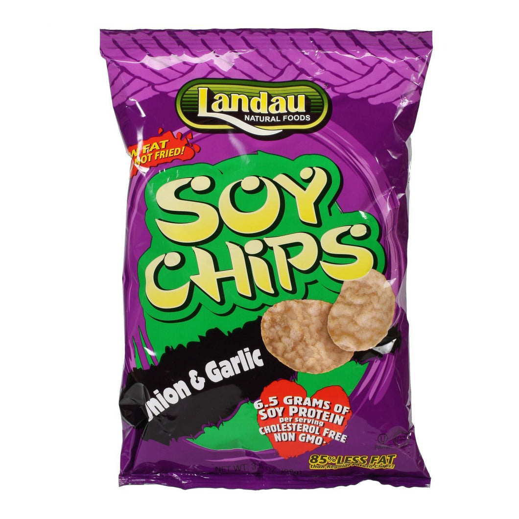 LANDAU SOY CHIPS ONION GARLIC