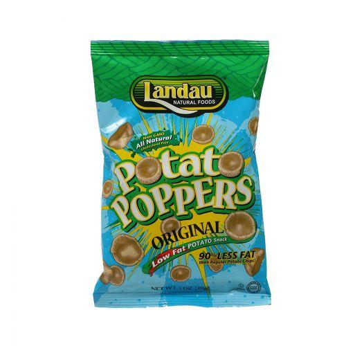 LANDAU POTATO POPPERS SALTED SMALL