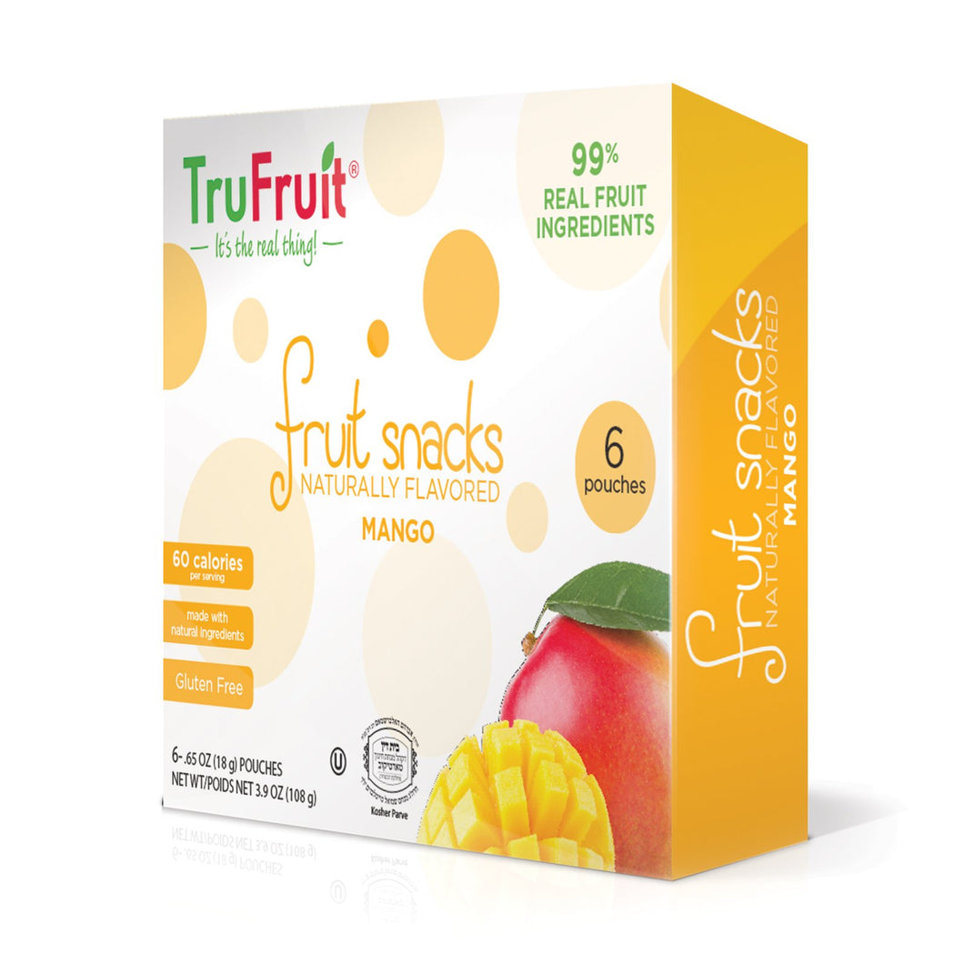 TRUFRUIT FRUIT SNACKS MANGO