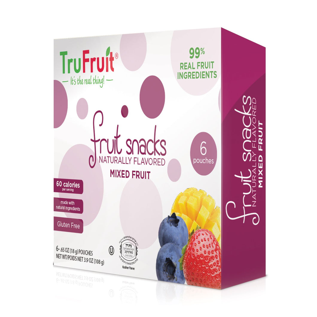 TRUFRUIT FRUIT SNACKS MIXED FRUIT