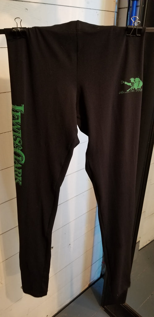 Black Lewis & Clark Fitted Leggings