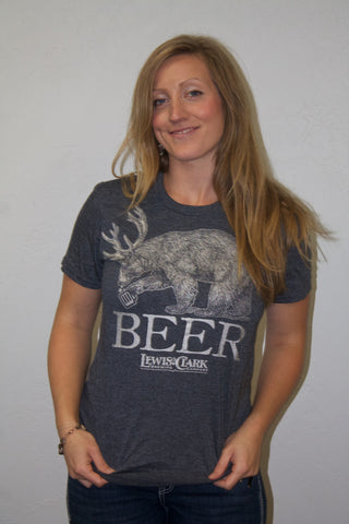 BEER BEAR T- Shirt
