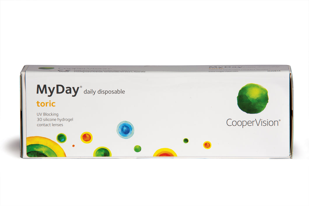 MyDay daily disposable toric 30 pack