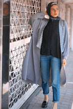 Load image into Gallery viewer, Embellished Cardigan - Grey