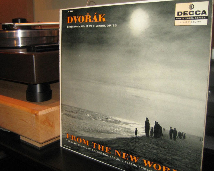 Dvorak Symphony No. 5 in E Minor, OP.95, RIAS Berlin, Fricsay - Decca DL 9845 Pink Label Promo