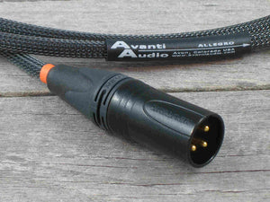 Avanti Audio Allegro 110ohm Digital AES/EBU Balanced XLR Interconnects