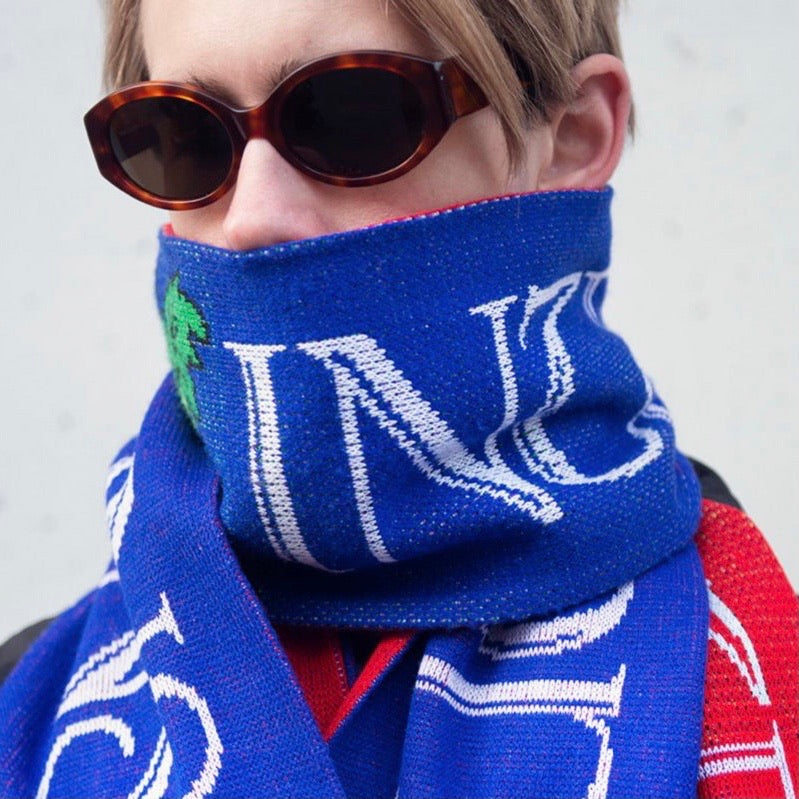 "Mutual Intentions, Skjerf ""Super Limited Wine Tasting Scarf"""