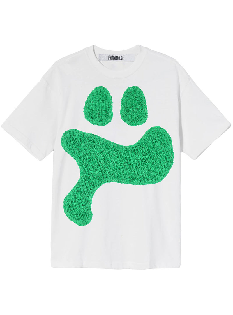 SMILEY SMOCKS GREEN TEE