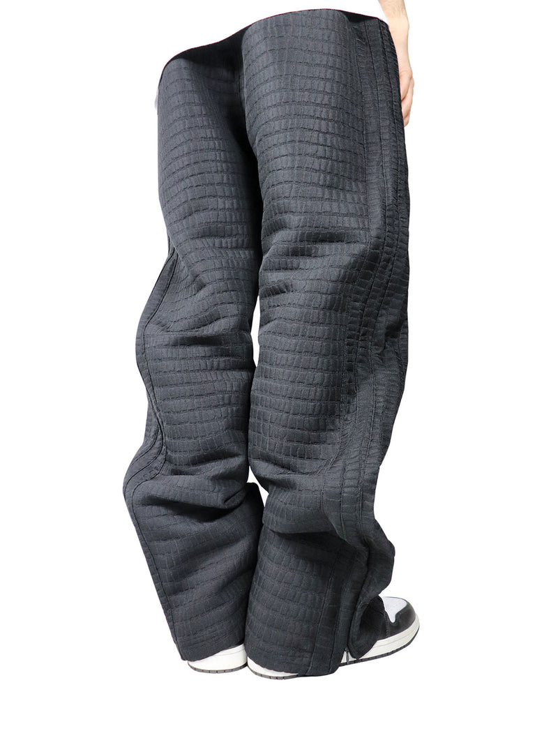 CROCODILE BLACK TECHNICAL PANTS