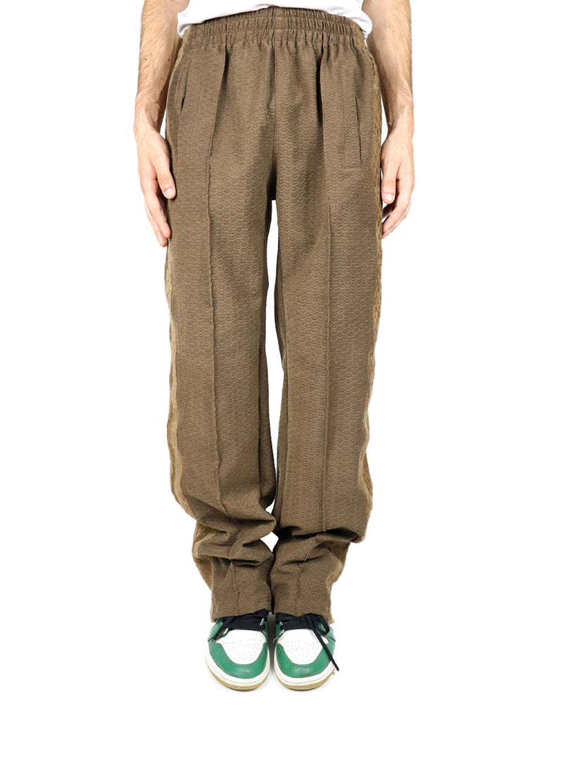 SNAKE BROWN TECHNICAL PANTS