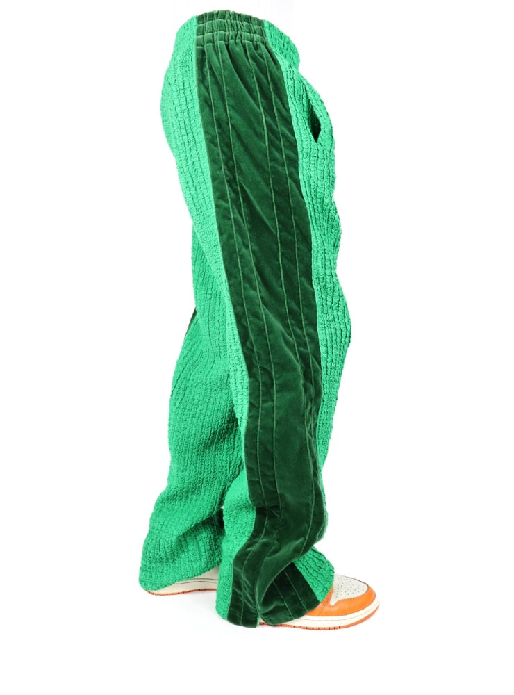 SMOCKS GREEN TECHNICAL PANTS