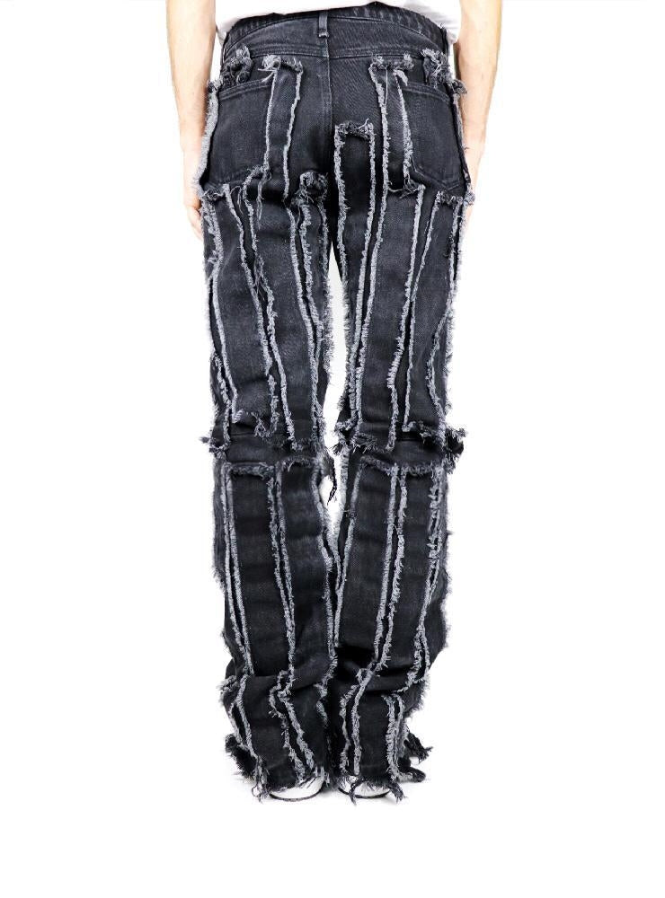 AREA 51 BLACK DENIM