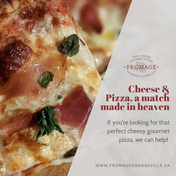 Cheese & Pizza... a match made in heaven!
