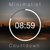 The Minimalist Countdown Timer - BR Media Pro