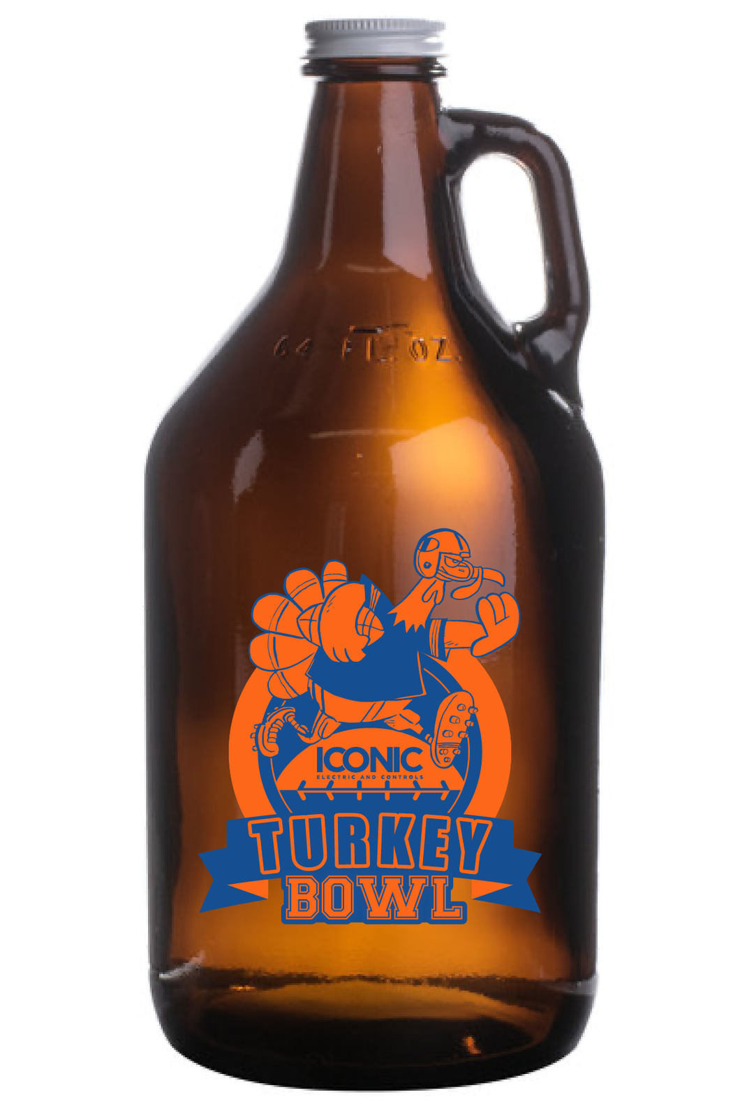 Iconic Electric & Controls Turkey Bowl 2020 - Custom Growler Only