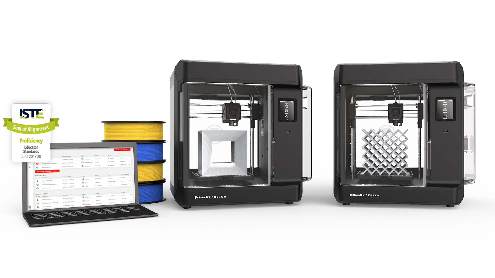 Makerbot SKETCH™ -Two printer setup bundle