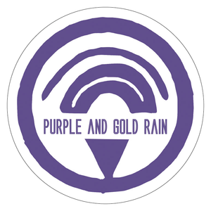 PURPLE AND GOLD RAIN