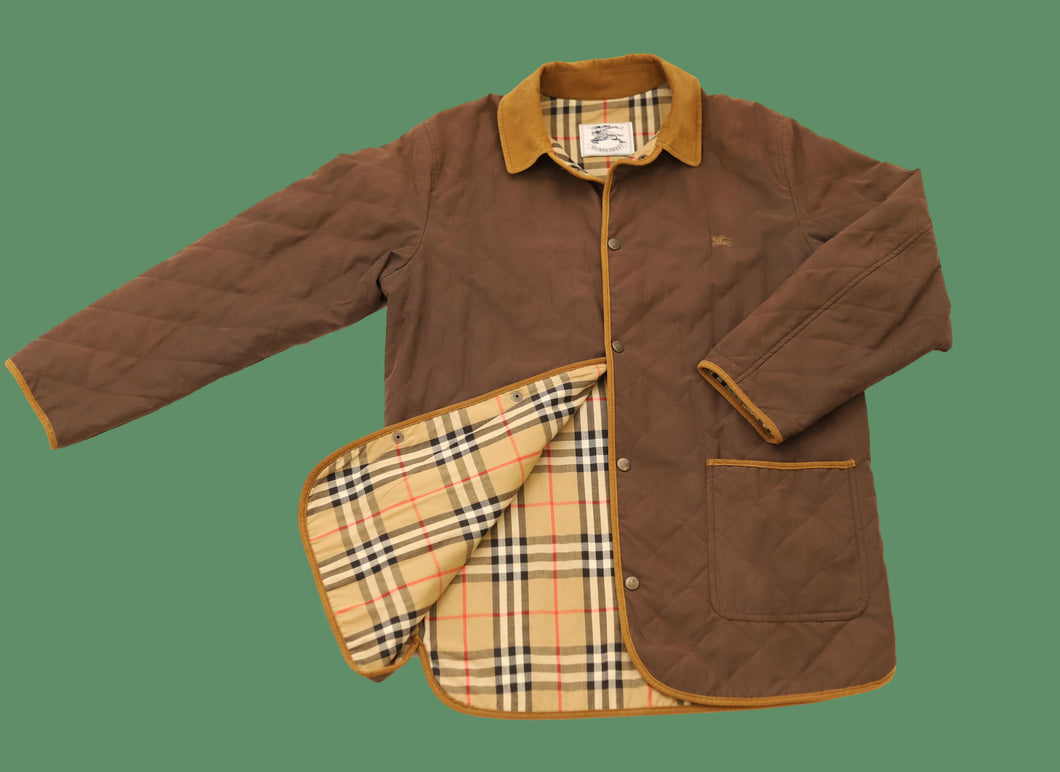 Vinateg Burberry Quilted Jacket