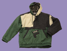 Load image into Gallery viewer, Vintage 90s Rare FILA Puffer Sweat / Jacket