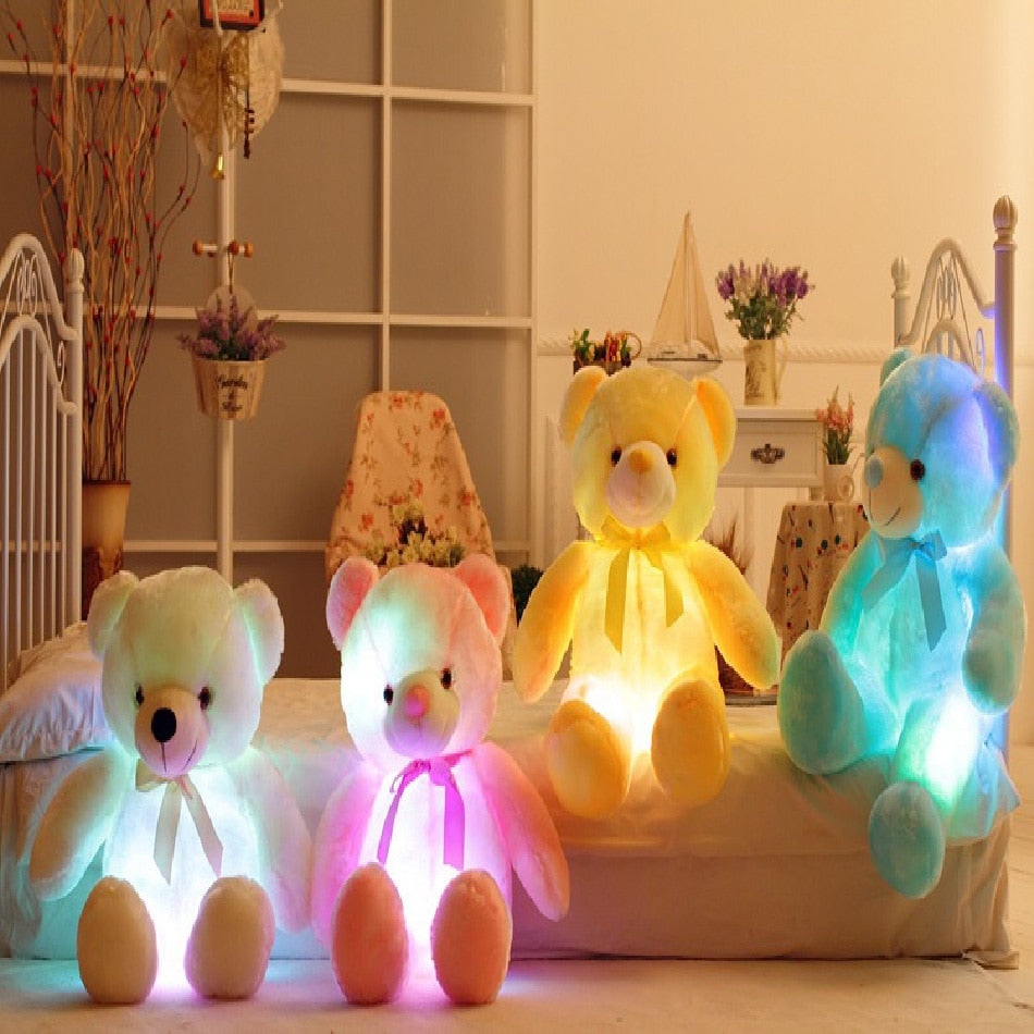 LED Colorful Bright Teddy Bear || TEDDY GLOW