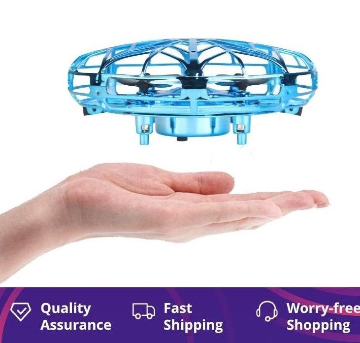 UFO Child Drone Infraed Hand Sensing Aircraft