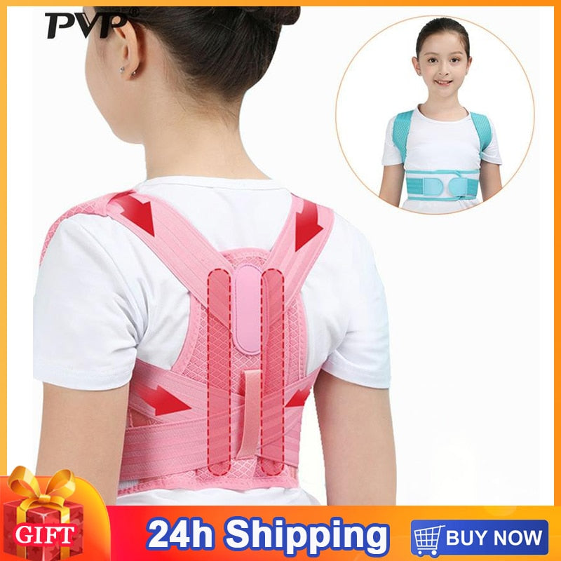 Children Posture Corrector Back Support Belt Adjustable High Quality