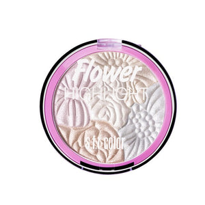 #2021 New 5 Colors Flower 3D Highlighter Eyeshadow Powder Long Lasting