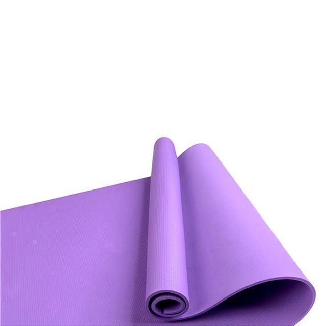 Fitness Mat with Position Lines - Non Slip