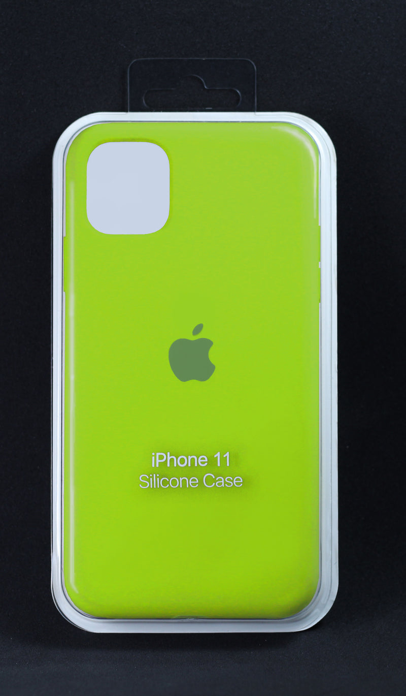 Case Silicon Iphone 11 Color 1