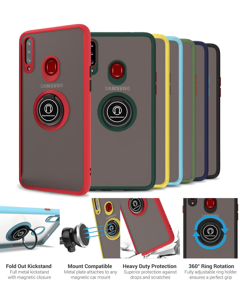 Case Mate con Anillo Motorola Moto G7 Power Pistacho