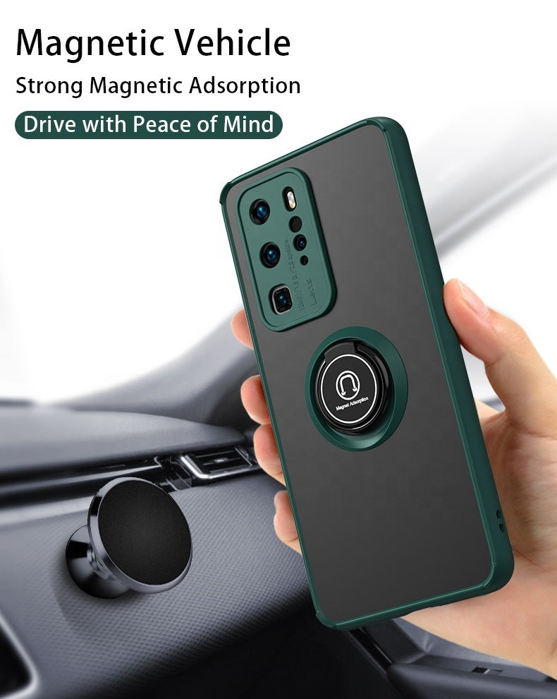 Case Mate con Anillo Motorola Moto G7 Power Amarillo