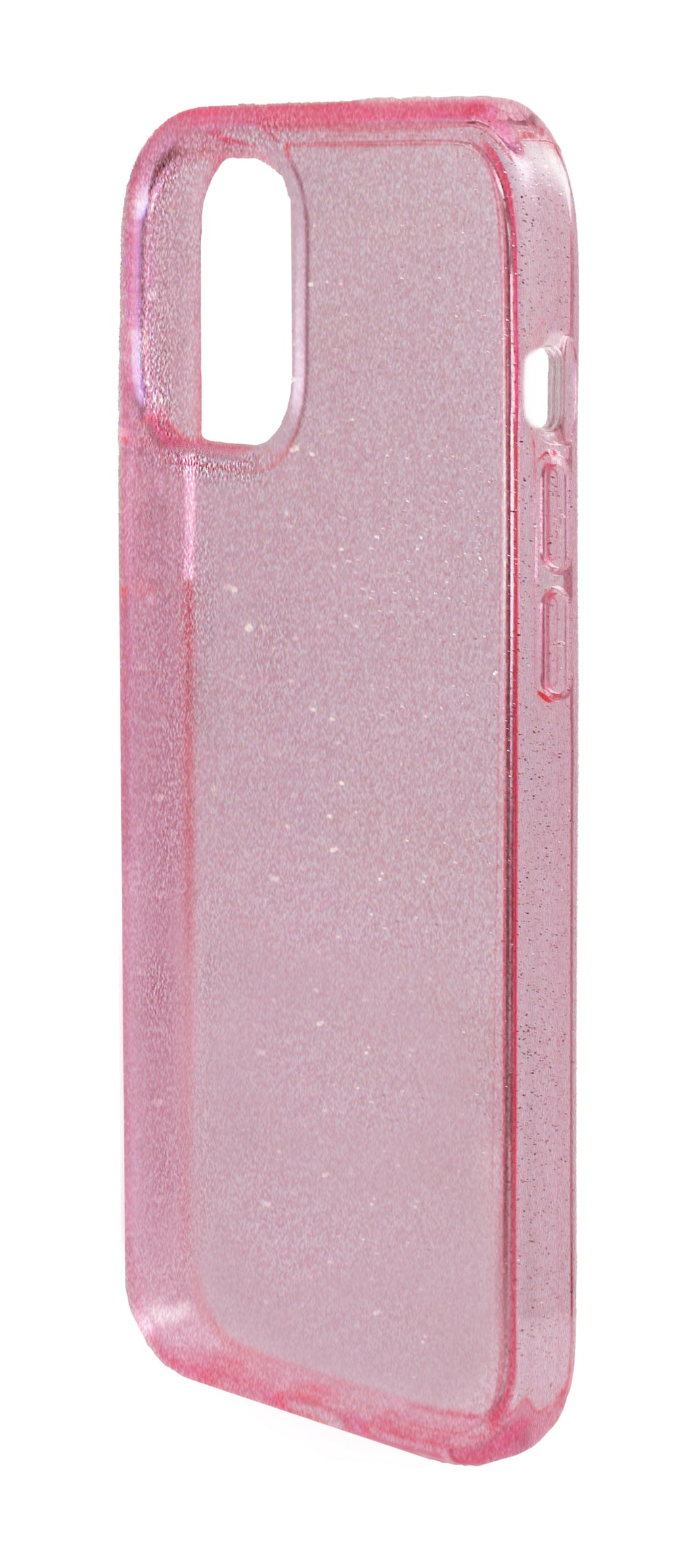 Case Escarchado iPhone 12 Pro Max Rosado
