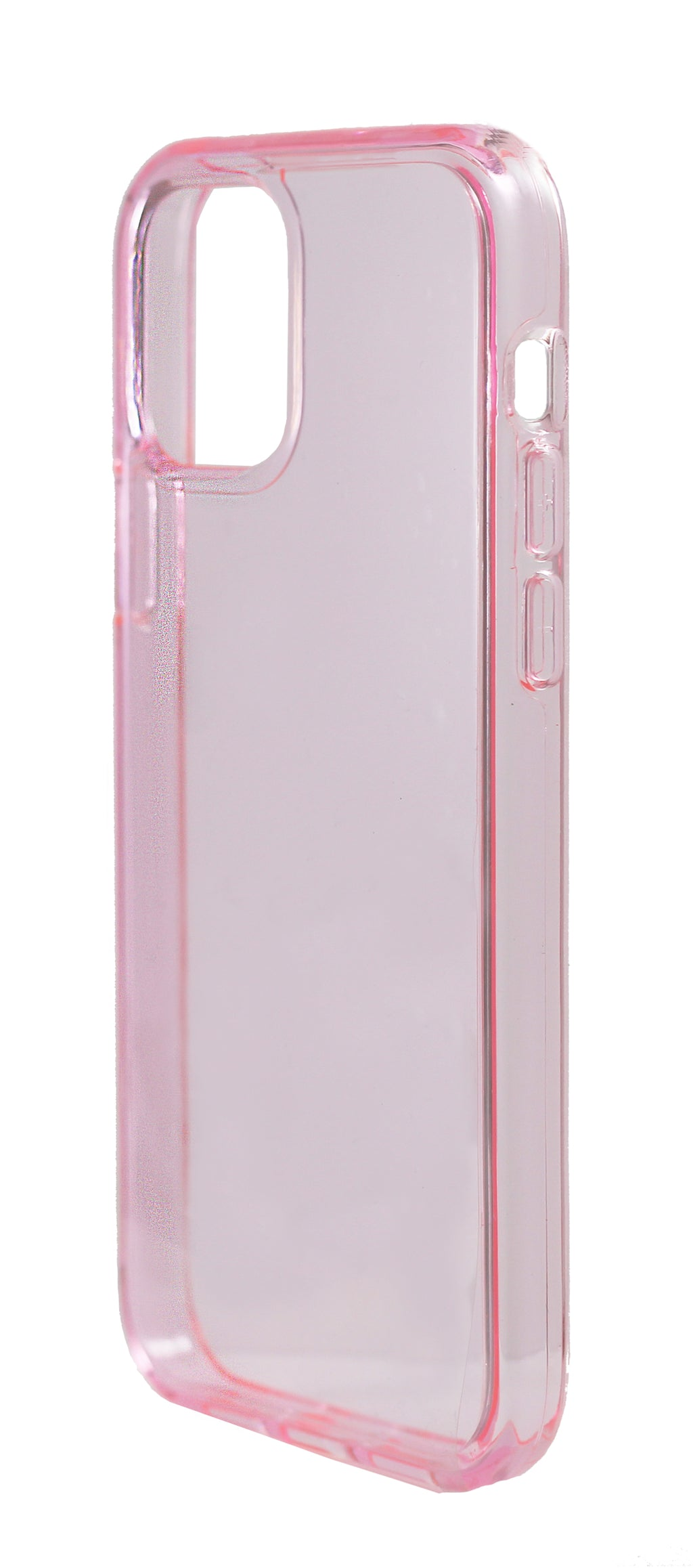 Case Transparente iPhone 12 Mini Rosado