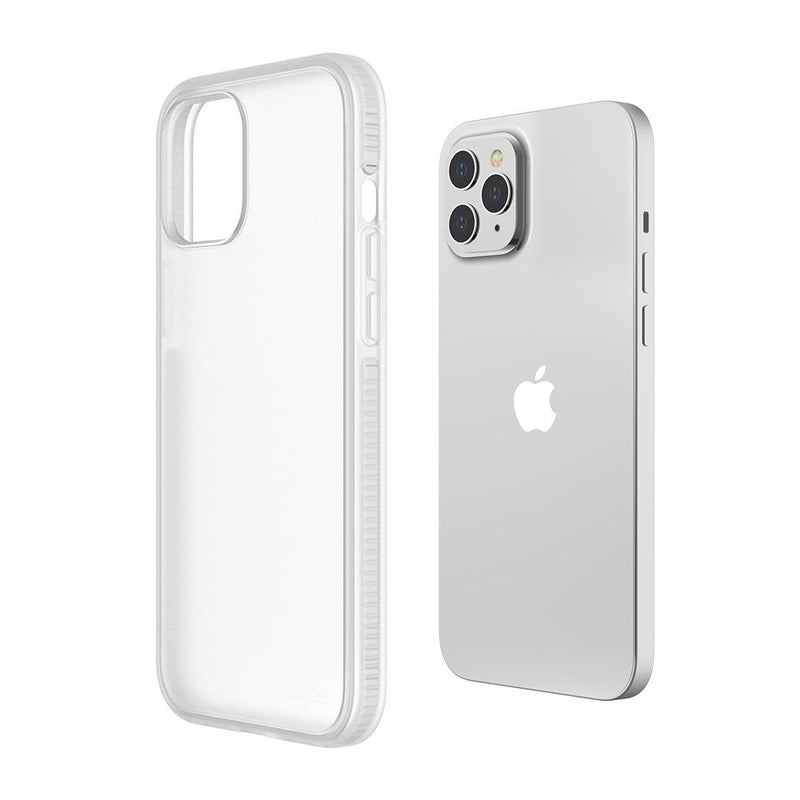 Case Prodigee Safetee Smooth iPhone 12 / 12 Pro Plateado