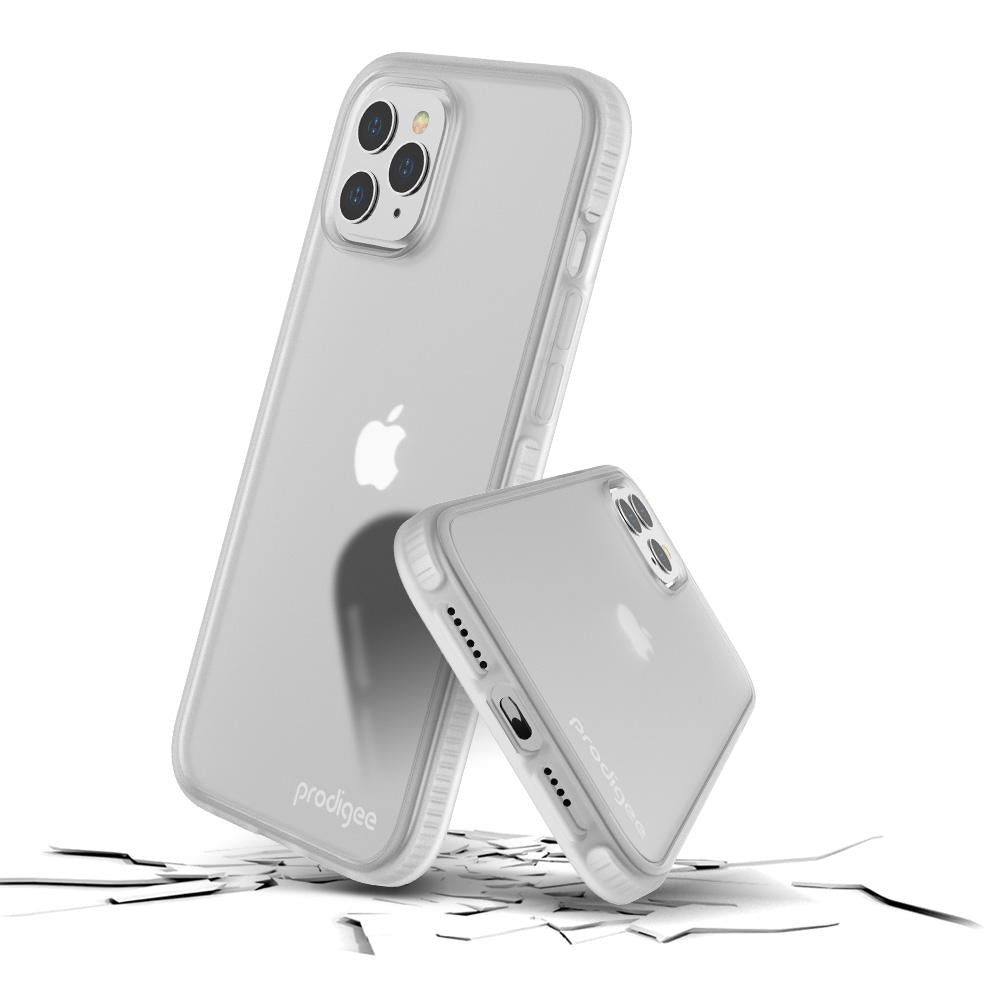 Case Prodigee Safetee Smooth iPhone 12 Pro Max Plateado